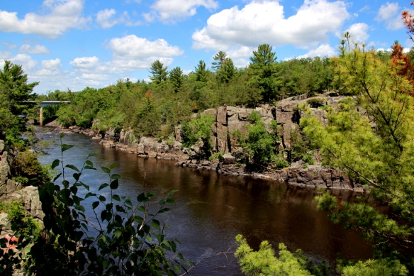 Summer along the St. Croix river, a spot popular with paddlers