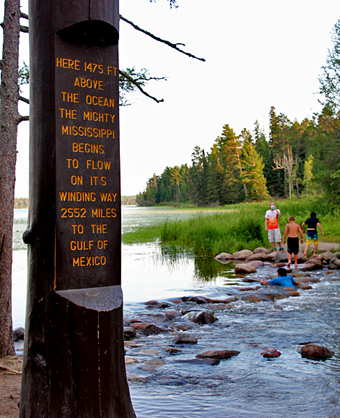 Headwaters of the Mississippi River at Lake Itasca