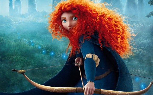 "princess merida of ""Brave"""