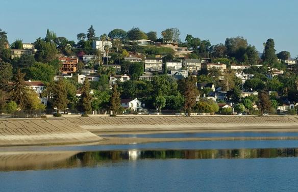 silverlake resevoir, Los Angeles, CA