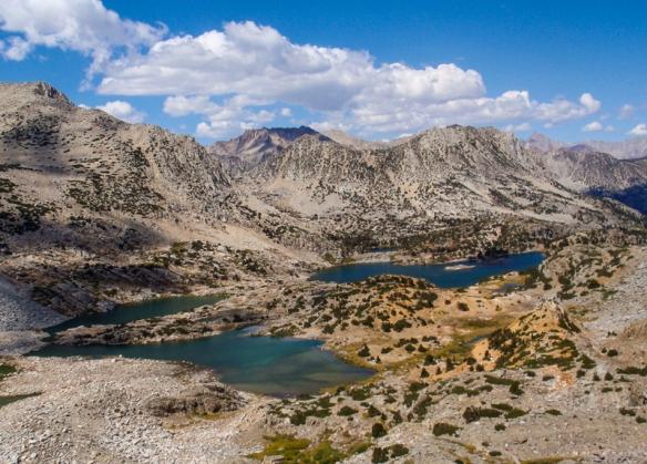 Bishop Pass, Sierra Nevadas