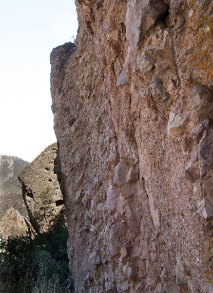 Breccia at Pinnacles NP