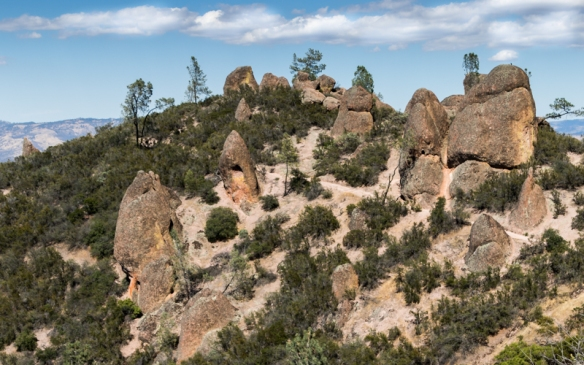 the Pinnacles of Pinnacles NP