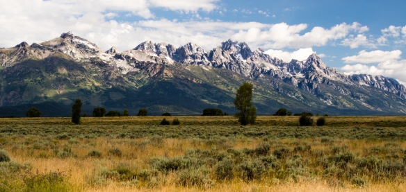 grand tetons outside Jackson, WY