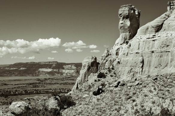 chimney rock-Ghost Ranch-