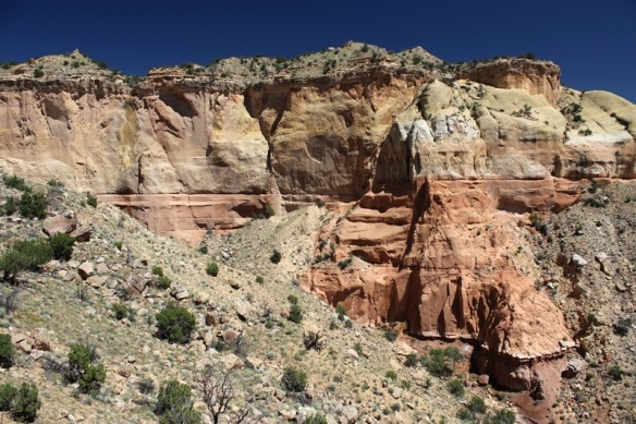 Red rocks at Ghost Ranch