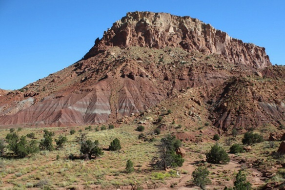 Red rocks at Ghost Ranch, New Mexico