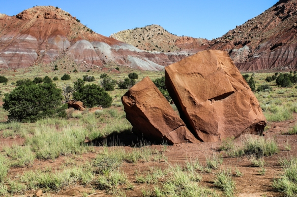 red rocks-Ghost Ranch-