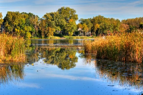 Lake Wabaso-fall color-