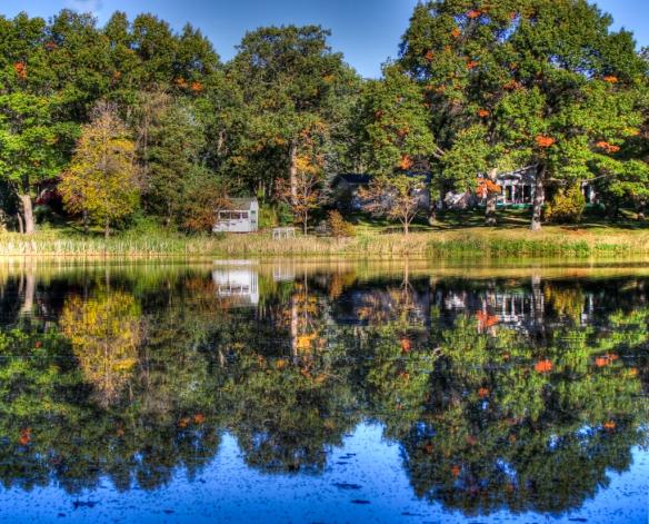 mirror lake-fall color-