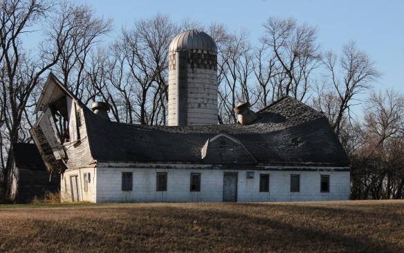 old barn near Sundberg, MN