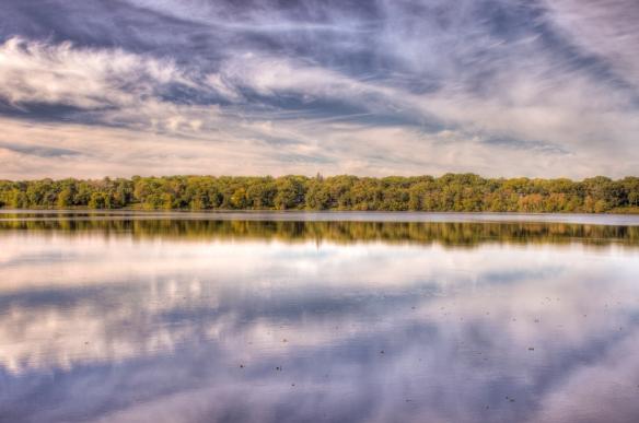 Vadnais reservoir-sky-