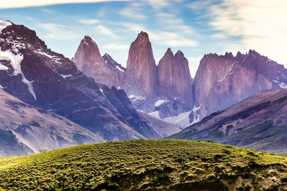 torres del paine - (the blue towers)