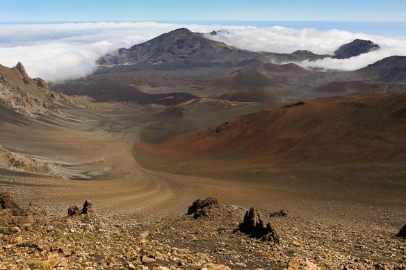 Haleakala volcano-Maui