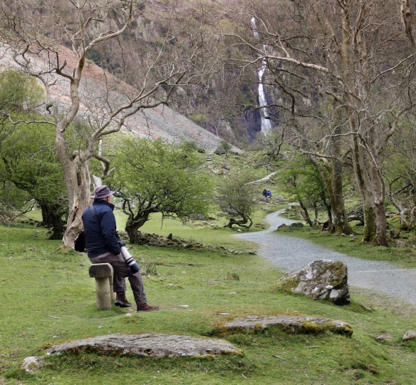 aber falls trail-North Wales