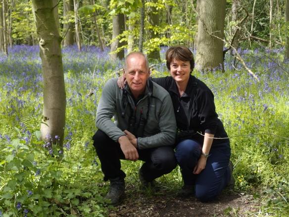 Alan Davies and Ruth Miller-