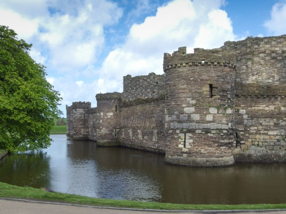 Beaumaris Castle on Anglesey island
