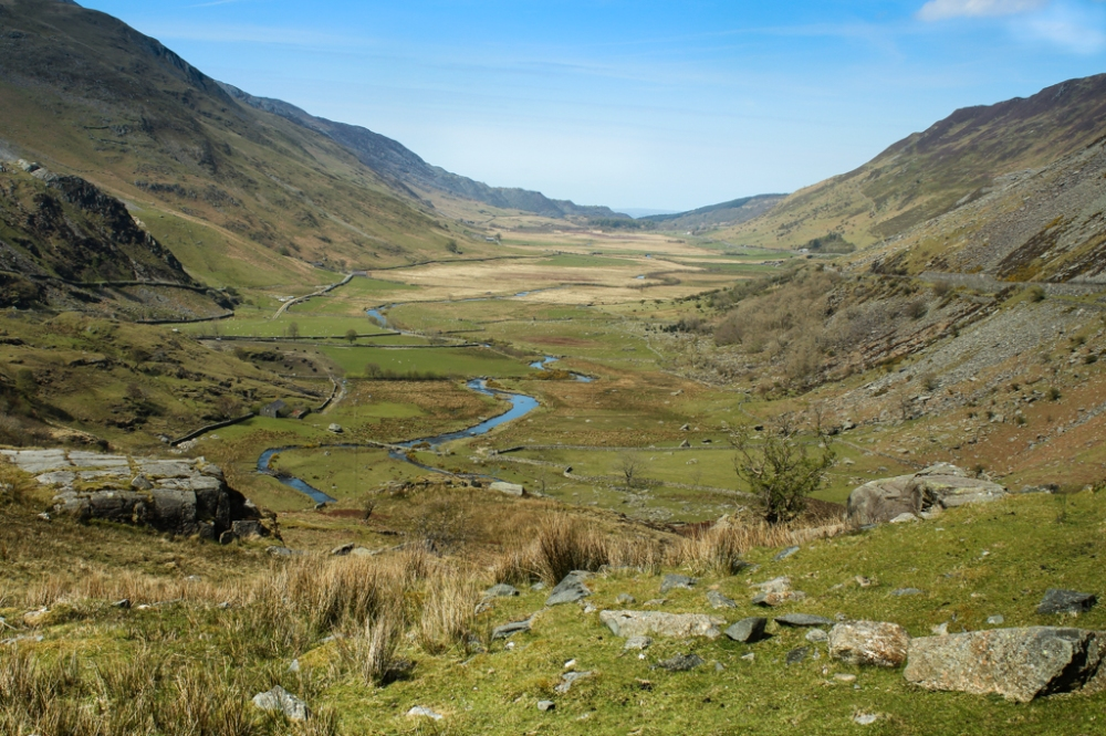 foothills of Snowdonia National Park, Wales