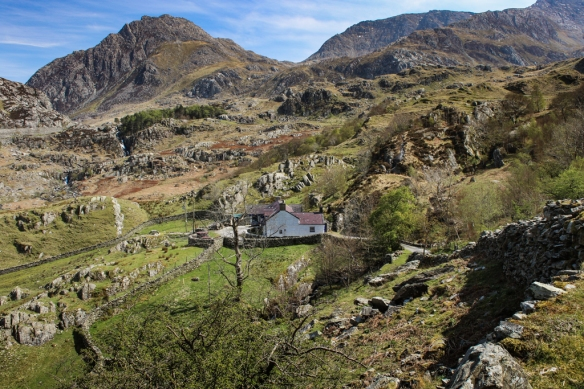 foothills of Snowdonia National Park, Wales-