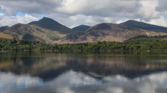 hike around Derwentwater, Keswick, England