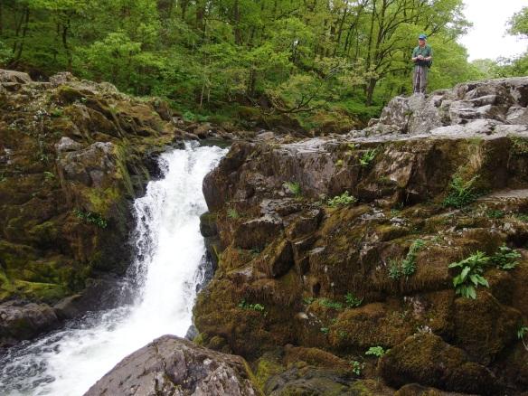 Waterfall near Skelwith bridge