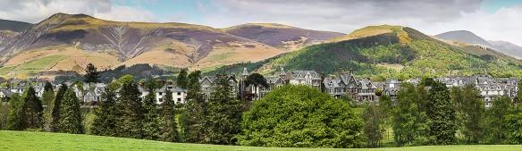 Hills behind Ambleside, Lake District, UK