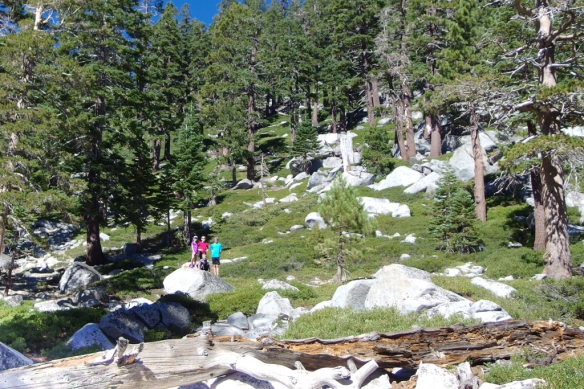Bayview Trail, into Desolation Wilderness