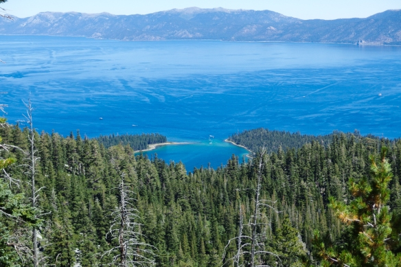 Emerald Bay and Lake Tahoe