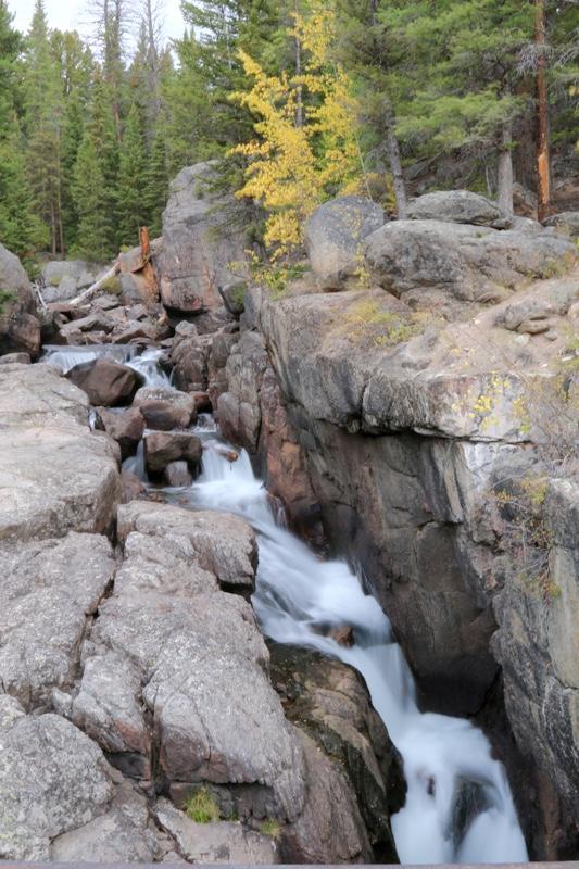 Waterfall on Beartooth Pass