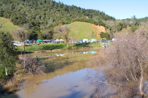 Lake Sonoma county park