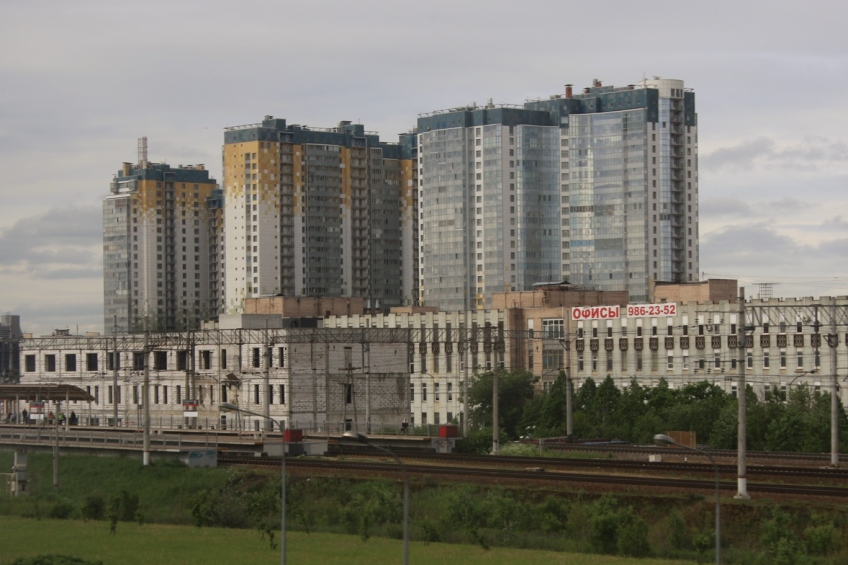 Apartment buildings, St. Petersburg, Russia