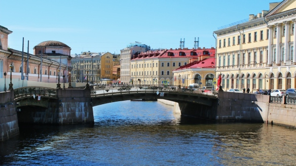 Canals in St Petersburg