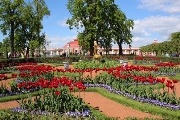 Gardens at Peterhof, St. Petersburg