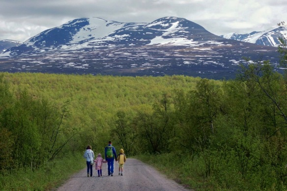 Mt. Njulla, Abisko national park, Sweden