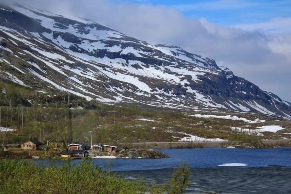 On the road to Narvik, Norway from Abisko national park