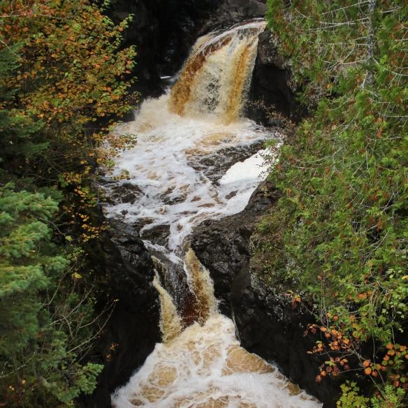 Cascade Falls, north shore drive, MN-4