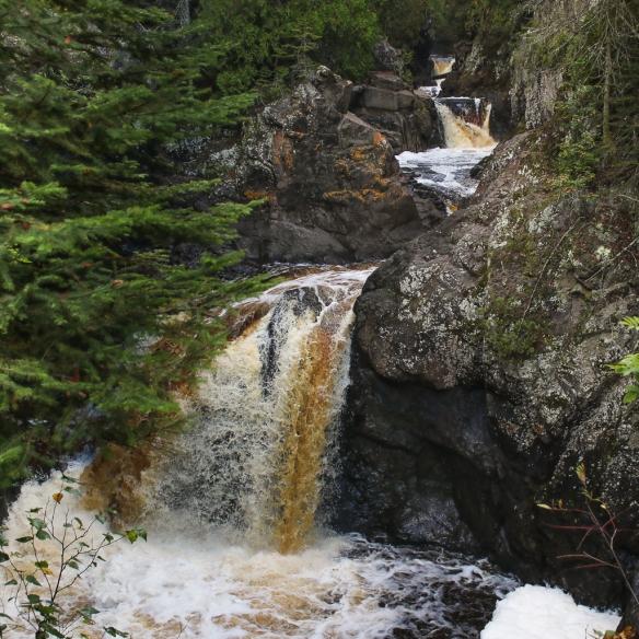 Cascade Falls, north shore drive, MN