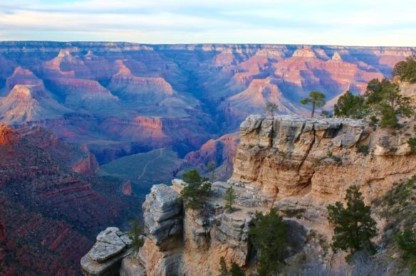 Grand Canyon - April sunset