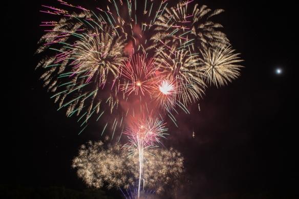 fireworks, July 4