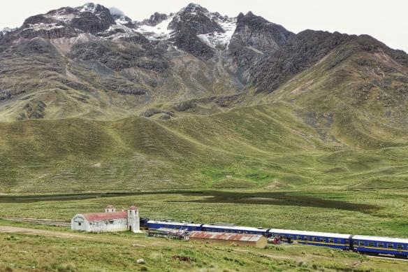Train to Puno at La Raya pass, Peru