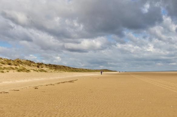 Beach at Holkham gap, Norfolk, UK