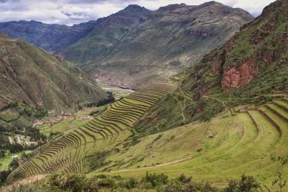 Terraces of Pisac, Peru