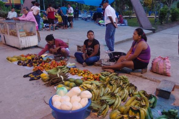 Market day, Indiana village, Amazon, Peru