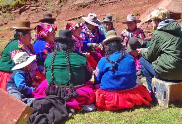Aymara Indians, Puno, Peru