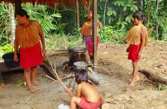 Yagua Indians, Peru Amazon