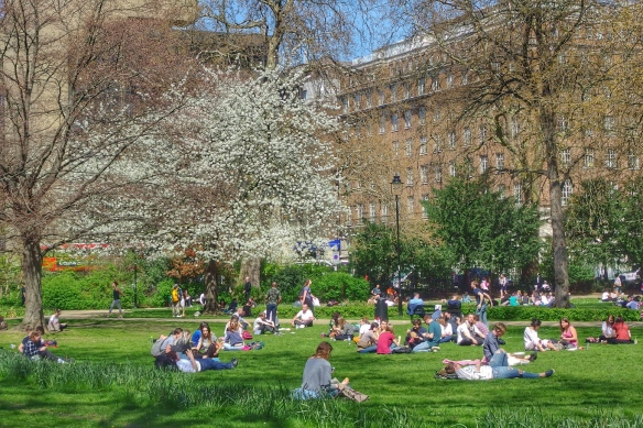 Springtime, University College London