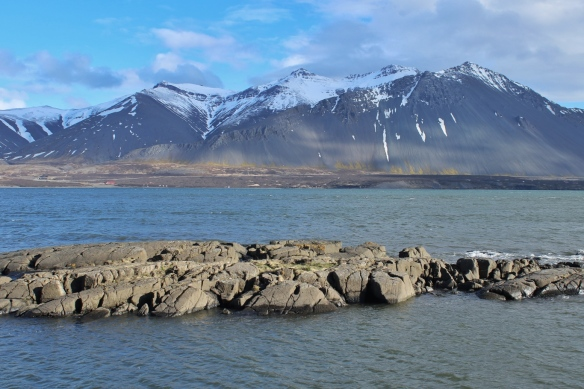 Borgarnes harbor, Iceland