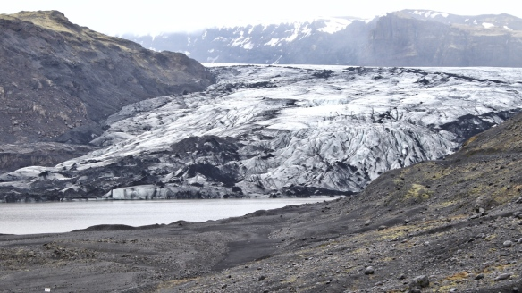 Myrdalsjokull glacier, Iceland south coast