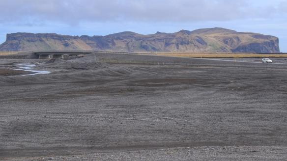 Glacial outwash, Myrdalsjokull, Iceland