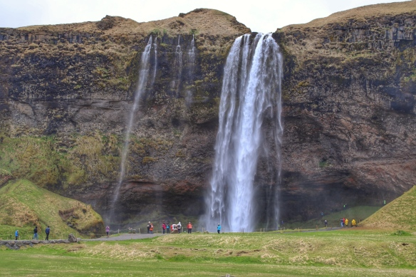 Waterfalls on southern Ring road, Iceland